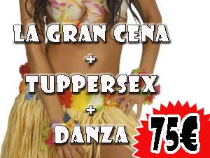 LGC + TUPPERSEX + DANZA 75€