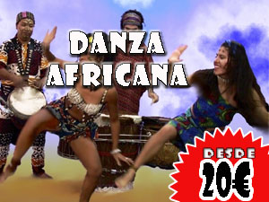 Danza africana, desde 20€ por persona