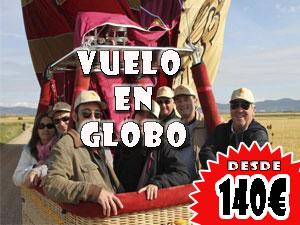 Vuelo en Globo ,desde 140€