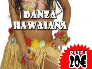 Danza hawaiana, desde 20€ por persona