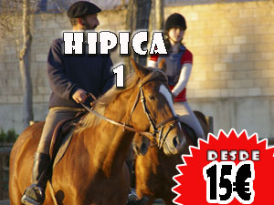 Hipica 1, Desde 15€ por persona