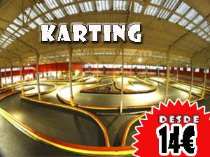 Karting en Logroño, 14€