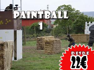 Paintball 1 en Logroño 22€