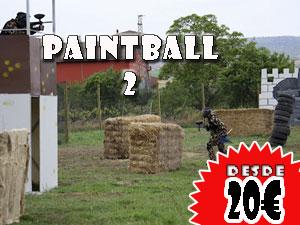 Paintball 2, Desde 20€ por persona