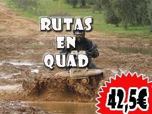 Rutas en Quad en Logroño 42,5€