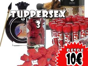 Tuppersex 3, 10€ por persona