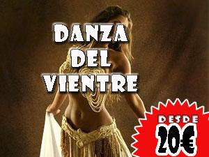 Danza del vientre, Desde 20€ por persona